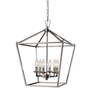 Carmen 6-Light Foyer Pendant - Midtown Bargains