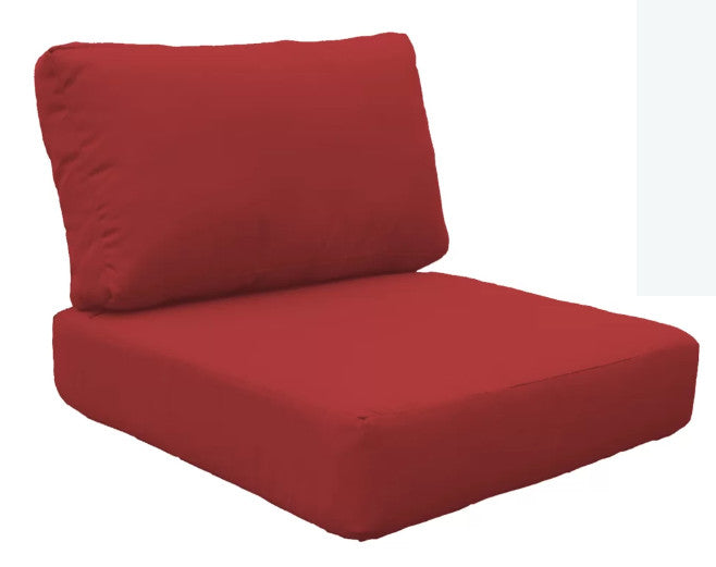 Clearance: 90% Off - Set of 5 Cover Sets For Indoor/Outdoor Cushion, Terracotta - Midtown Bargains