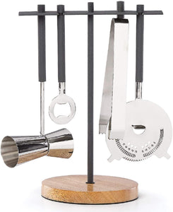 Dansk Lenox Moby 5-piece Bar Tool Set - Midtown Bargains