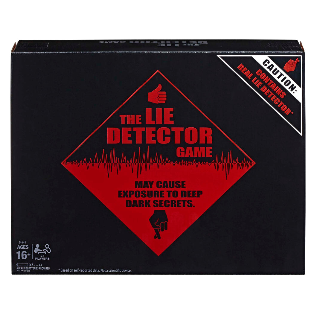 The Lie Detector Game Adult Party Game, Ages 16 and Up - Midtown Bargains