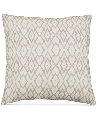 Hallmart Collectibles Printed 20 x 20 inches Square Decorative Pillow, Beige/Ivory - Midtown Bargains