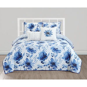 Montilly Lewiston Spring Hill Grove Quilt Set, Queen - Midtown Bargains