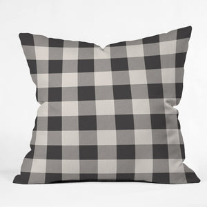 "Deny Designs Zoe Wodarz City Plaid Indoor Throw Pillow, 16"" x 16"" - Midtown Bargains"