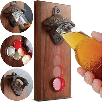 Refinery Cap Catching Magnetic Bottle Opener - Midtown Bargains