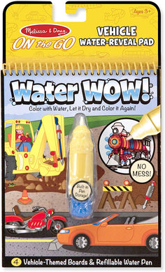 Melissa & Doug Water Wow! Book – Vehicles - Midtown Bargains