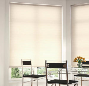 "Light Filtering Pure White Cellular Shade 26"" W x 72"" L - Midtown Bargains"