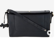 RADLEY London Belmont House Medium Flapover Crossbody Purse Black, - Midtown Bargains