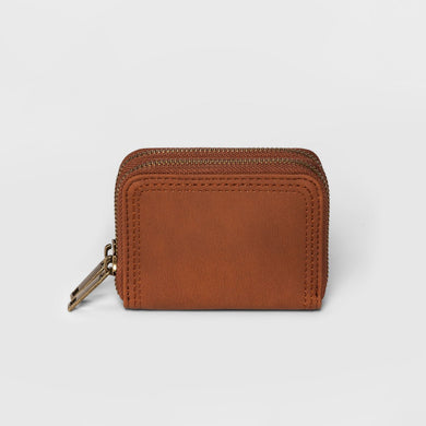 Women's Small Double Zip Wallet