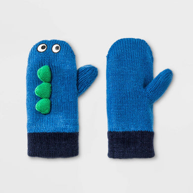Toddler Boys' Dino Magic Mittens