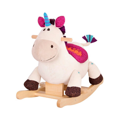B. Rocking Unicorn Riding Toy *LOCAL PICKUP ONLY