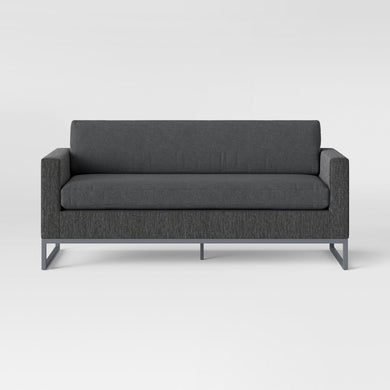 Howell Patio Sofa Charcoal *LOCAL PICKUP ONLY
