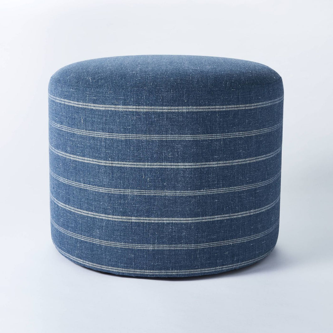 Lynwood Upholstered Round Cube *LOCAL PICKUP ONLY