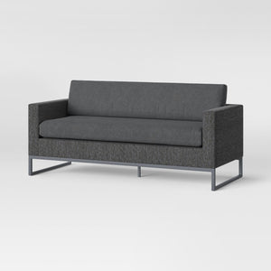 Howell Patio Sofa Charcoal *LOCAL PICKUP ONLY - Midtown Bargains