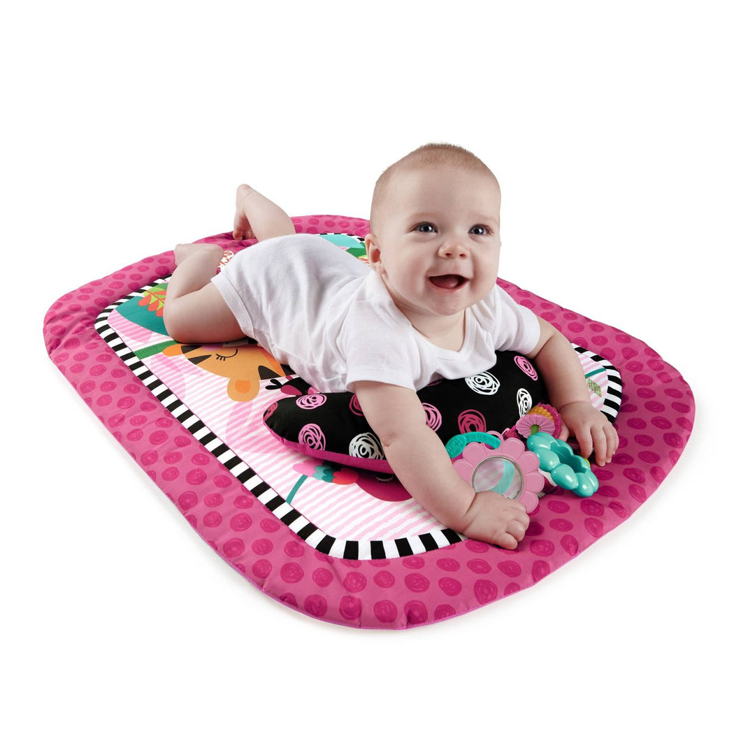 Bright Starts Wild & Whimsy Prop Mat Baby Gym
