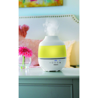 0.5gal Cool Mist Ultrasonic Humidifier with Aroma, White ***Box May Be Damaged