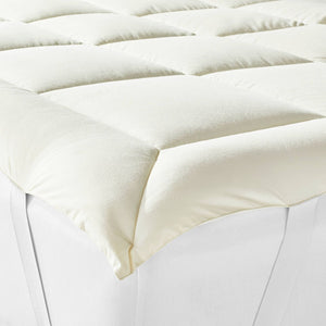 Casaluna Wool Blend Mattress Topper, Queen - Midtown Bargains