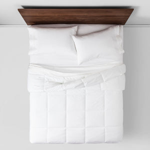 Warmer Down Alternative Comforter Insert - Twin/Twin XL, Color White - Midtown Bargains