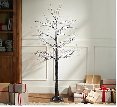 Indoor/Outdoor Birch Tree with Lights and Remote by Valerie - Midtown Bargains