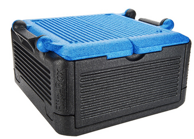 Flip-Box Collapsible Large Collapsible Hot/Cold Insulation Box Cooler