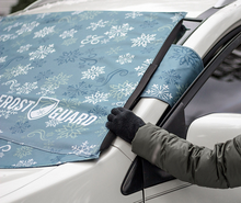 FrostGuard Windshield Cover with 2 Security Panels & Mirror Covers - Midtown Bargains