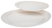 Set of 2 Oval Non-Slip Serving Trays
