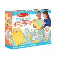 Melissa & Doug Mine to Love Changing & Bathtime Play Set - Midtown Bargains