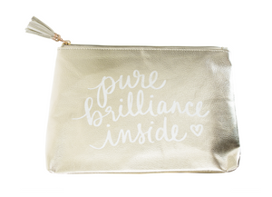 Dana Lee Pure Brilliance Inside Pouch, Gold
