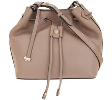 RADLEY London Two Temple House Medium Drawstring Crossbody Purse Mink Color - Midtown Bargains