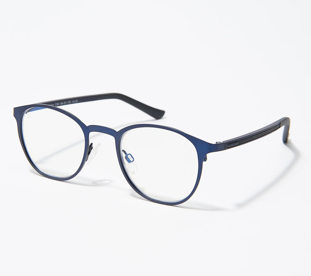 Prive Revaux The Victor Blue Light Blocking Readers Strength 3-3.5 Midnight Navy	3 - Midtown Bargains