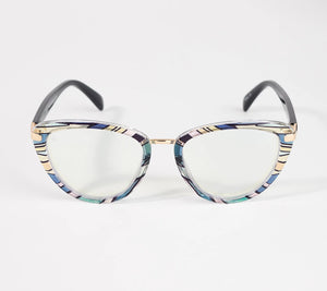 Prive Revaux The Claudia Blue Light Readers Reading Glasses - Midtown Bargains
