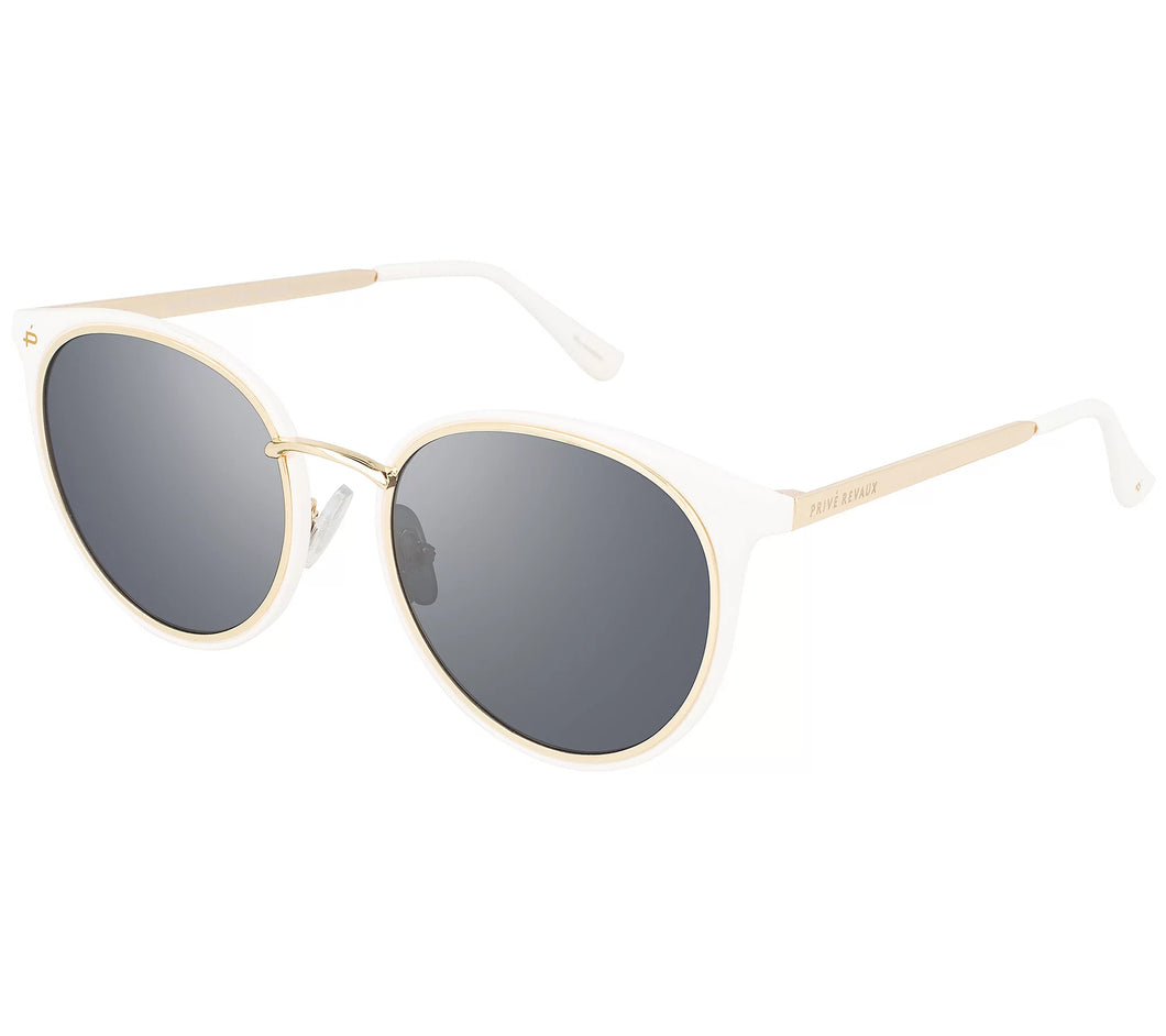 Prive Revaux Waveseeker Polarized Sunglasses White	One Size - Midtown Bargains