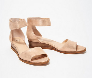 Vince Camuto Suede Two-Piece Sandals - Rejjie Size 8.5