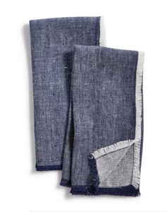 Lucky Brand 2-Pc. Denim Napkins Set - Midtown Bargains
