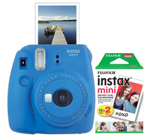 FujiFilm Instax Mini 9 Instant Print Camera with 20 Pack of Film ****Lime Green Color - Midtown Bargains