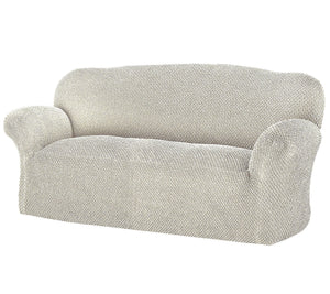 Paulato by Gaico Roma 3-Seater Stretch Furniture Cover Ivory, - Midtown Bargains