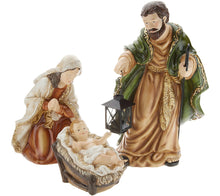 """As Is"" Indoor/ Outdoor 3-Piece Holy Family Display by Valerie Traditional, - Midtown Bargains"