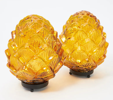 Set of 2 Illuminated 8