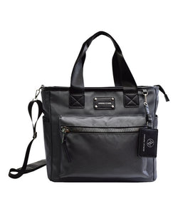 Adrienne Vittadini The Pebble Grain Tote, Charcoal
