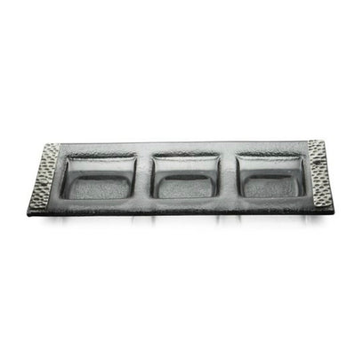 Arte Italica Notturno Sectional Server Serving Dish - Midtown Bargains