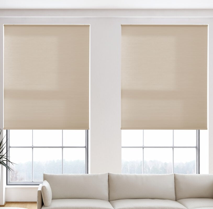 "80% Off - Light Filtering 48"" Desert Cellular Shade"