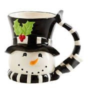 K&K Interiors Snowman Mug - Midtown Bargains