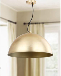 Arsen 1 Light Inverted Pendant - Midtown Bargains