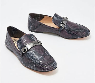 Vince Camuto Leather Slip-On Loafers, Padaire - Midtown Bargains