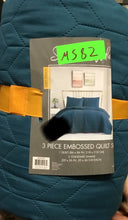 VCNY 3-Piece Chevron Embossed Quilt Set - Midtown Bargains