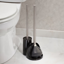 InterDesign Slim Toilet Bowl Brush and Plunger Set *LOCAL PICKUP ONLY