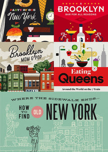 Herb Lester's New York Collection - 6 Guide Books to New York - Midtown Bargains