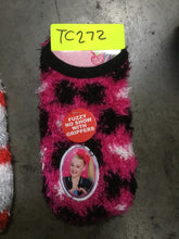 Toddler Girls' Slipper Socks With Grippers, Sizes 10-4 - Midtown Bargains