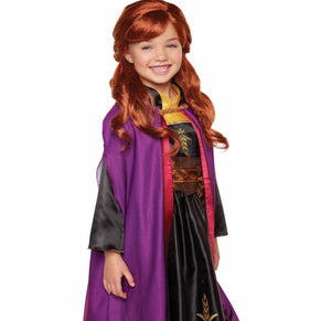Girls' Wig for Anna Character ***Box may be Creased - Midtown Bargains