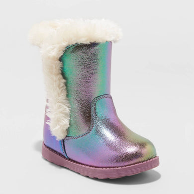 Toddler Girls' Katrina Shearling Boots, Various Sizes - Midtown Bargains