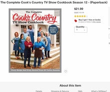 The Complete Cook's Country TV Show 816-Page Cookbook - Midtown Bargains